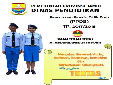 Pengumuman Penerimaan Peserta Didik Baru (PPDB) TP. 2017/2018