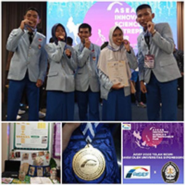 TIM TORSI meraih Mendali Emas PAda AJANG AISEF (Asean Innovative Entrepreneur 2020)